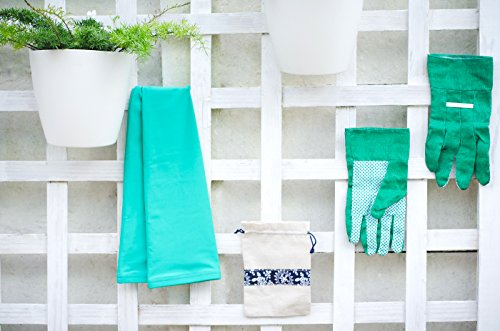 Thorium Green Gardening Heavy Duty Arm Sleeve Protectors Prevents Skin Irritation Scrapes UV Protection Lycra Comes Complete with Gloves & Storage Bag by Thorium (Image #6)