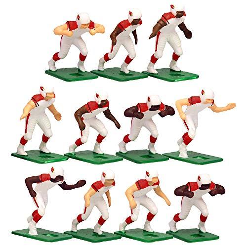 Arizona Cardinals Away Jersey NFL Action Figure Set