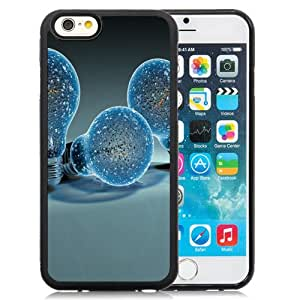 New Personalized Custom Designed For iPhone 6 4.7 Inch TPU Phone Case For Creative Light Bulbs Phone Case Cover