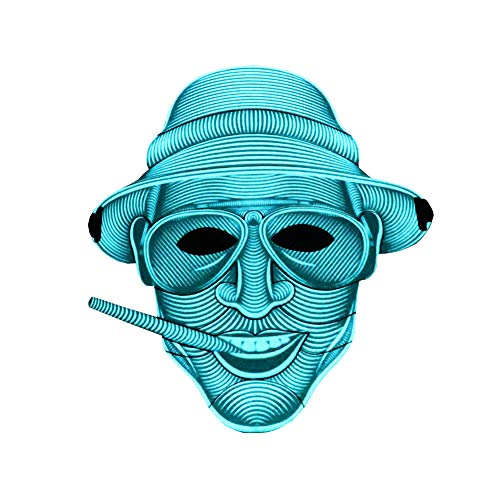 Sound Activated Mask - ESA Supplies LED Party Mask Sound