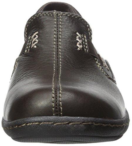 Skechers Washington Seattle Slip-on Loafer Dark Brown Leather