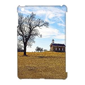 3D Bloomingbluerose Abandoned IPad Mini Cases Abandoned Schoolhouse Arvonia Kansas, Girl Design Abandoned, {White}