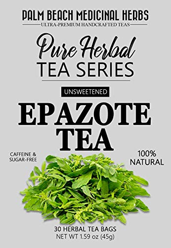 - Epazote Tea - Pure Herbal Tea Series by Palm Beach Medicinal Herbs (30 Tea Bags) 100% Natural