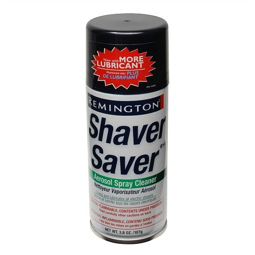 Aerosol Spray Cleaner Shaver Saver Lubricant & Cleaner 3.8 Oz By Remington (Pack of 2) (Aerosol Spray Cleaner)