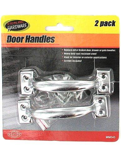 24 Packs of 2 Steel Handles w/Hardware 4''