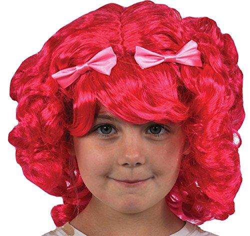 (UHC Girl's Lalaloopsy Tippy Tumblelina Wig Toddler Child Halloween)