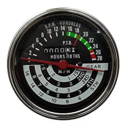 AT13366 New Tachometer Tach 5 Speed Gauge w/5 Speed for John Deere 420 430 440 +