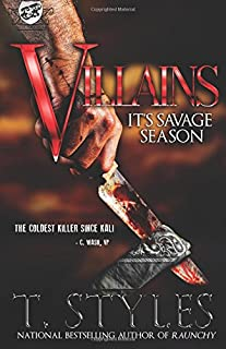 Book Cover: Villains: It's Savage Season