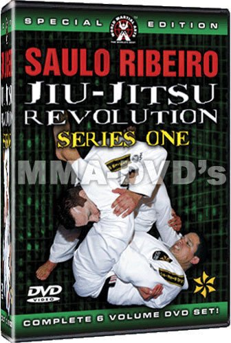 Saulo Ribeiro Brazilian Jiu-Jitsu Revolution Series 1- Instructional DVD Set