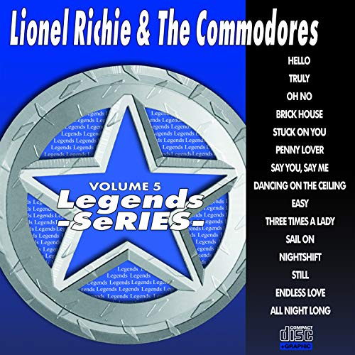 Lionel Richie Karaoke - Lionel Richie & Commodores Karaoke Disc - Legends Series CDG Vol. 005