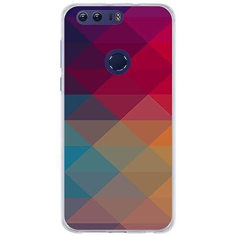 BJJ SHOP Funda Transparente para [ Huawei Honor 8 ], Carcasa ...