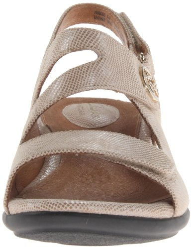 Natural M Leather Sandal US 12 Wedge Women's Tiffani Aldora Clarks Xw8xqg766