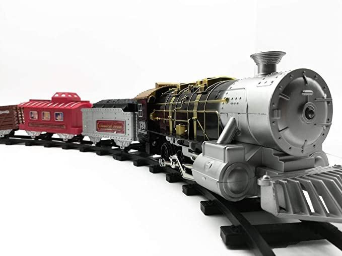 SWAMEY Remote Control Train and Track Set for Kids