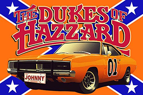 Dukes of Hazzard Collectors Personalized POSTER With Your Name! (13x19 Poster)