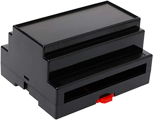JOYKK Electrónica Caja de plástico DIN Rail Rail Caja de ...