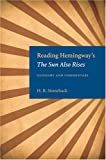 Reading Hemingway's the Sun Also Rises, H. R. Stoneback, 0873388674