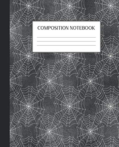 Composition Notebook: Gothic College Ruled Notebook | Lined Journal | Goth Emo Steampunk Skull Gift | 100 Pages |  7.5 x 9.25