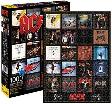 AQUARIUS AC/DC discografía 1000 PC Puzzle: Game: Amazon.es: Juguetes y juegos