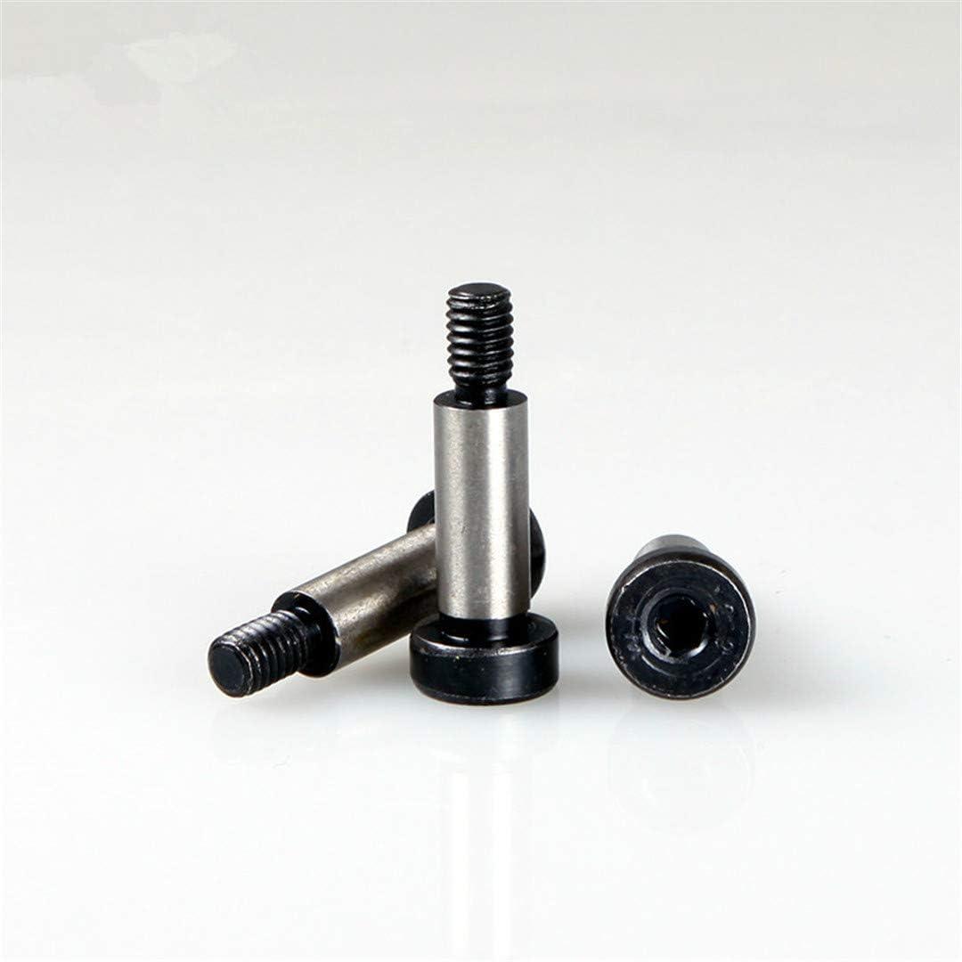 Stop Bolt Hex Head Shoulder Screw Stopper Bolt Screws Bolt Rod M6 65mm 2PCS 812-8100 M6-1.0