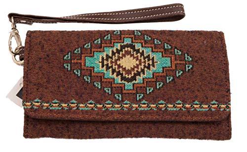Tucumcari Woven Wristlet Wallet 75x45 Inches