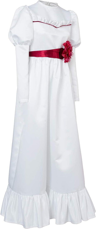 tianxinxishop Mujer Disfraz de Cosplay de Pelicula de Terror Vestido de Muneca de Terror