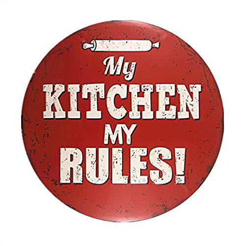 DYTrade My Kitchen My Rlues - Cuadro de Pared para Cartel ...