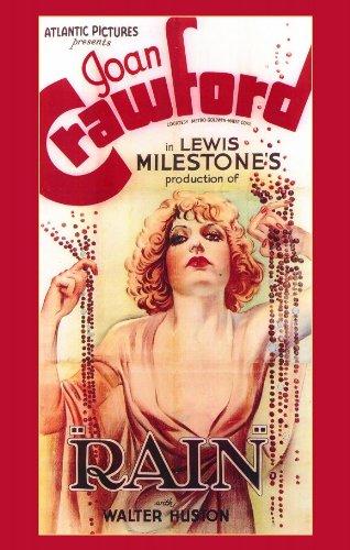 Rain Poster Movie 11x17 Joan Crawford Walter Huston William Gargan Guy Kibbee
