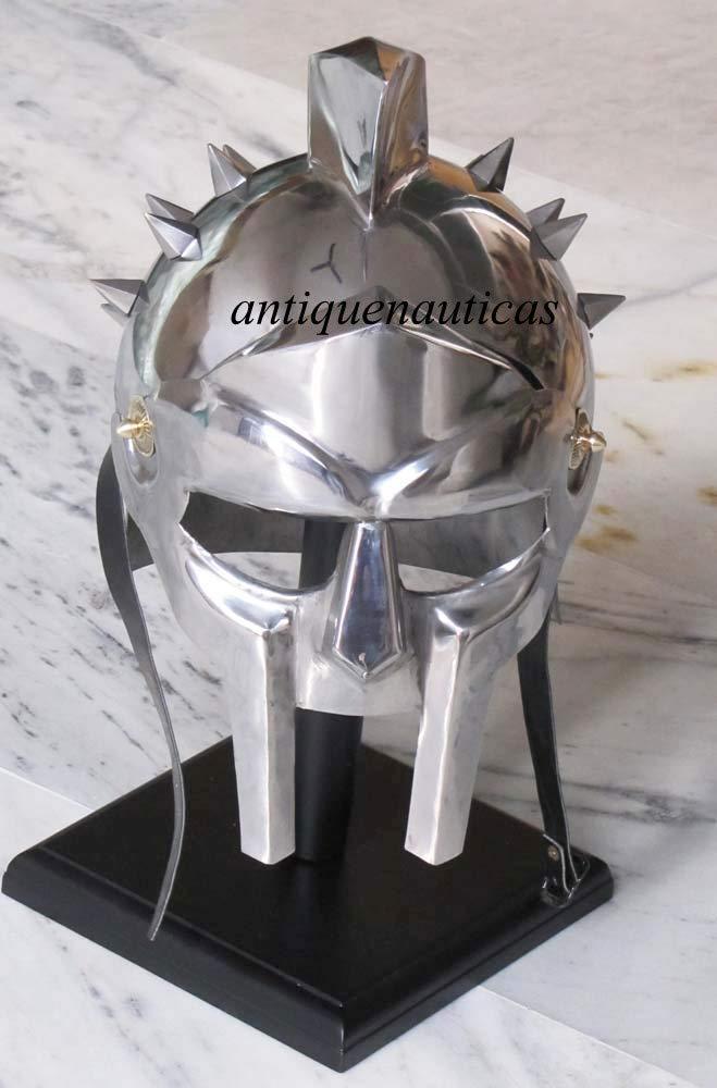Reducción de precio Casco Shivi Shakti Enterprises Medieval Coleccionable Griego Armor King Knight Gladiator