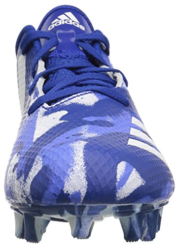 adidas Unisex Adizero 5-Star 7.0 Football Shoe, White/Collegiate Royal/hi-res Blue, 5 M US Big Kid by adidas (Image #4)