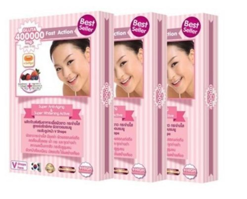 Best Seller 3XGluta 400000mg Anti Aging