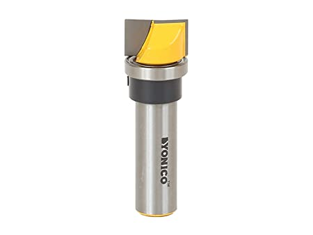 0.75 x 0.75 by Yonico Yonico 14131 Pattern Trim Template Router Bit with 1//2 Shank