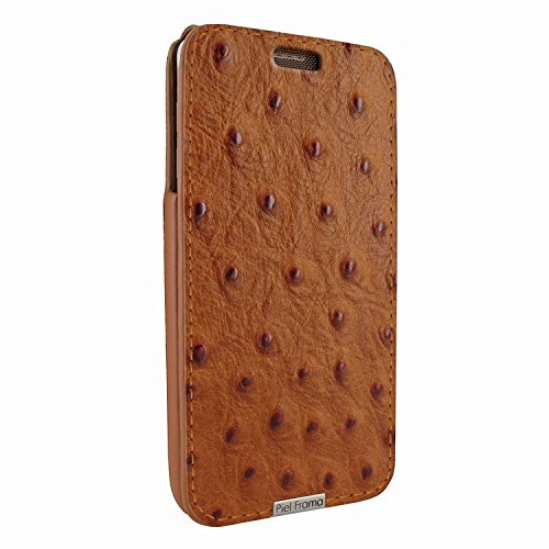 Piel Frama 721 Tan Ostrich iMagnum Leather Case for Samsung Galaxy Note 5 by Piel Frama (Image #1)