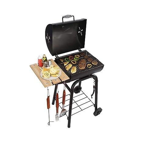 Charcoal Trolley BBQ Garden , Barbacoa al Aire Libre Cocina ...