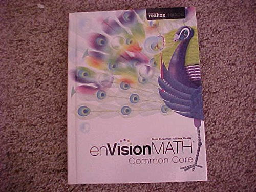 enVision Math Common Core Grade 5 Student Textbook Pearson realize Edition