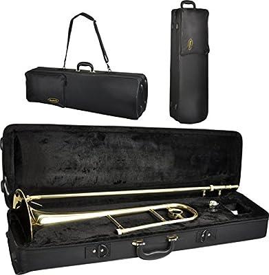 Trombón de tenor Steinbach con estuche y boquilla: Amazon.es: Instrumentos musicales