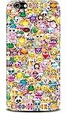 Wiko Lenny 3 - Emoji Smileys Silikon Schutz-Hülle weiche Tasche Cover Case Bumper Etui Flip smartphone handy backcover Schutzhülle Handyhülle thematys®