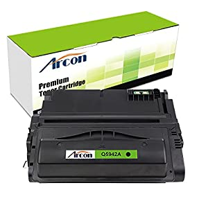 ARCON 1PK (10,000 pages) Black Compatible Toner Cartridge Replacement For HP 42A Q5942A Q1338A Q5942 Used For HP LaserJet 4200 4250 4350 4300 4240 4345MFP 4350N 4250N 4350DTN 4250DTN 4350TN 4250TN