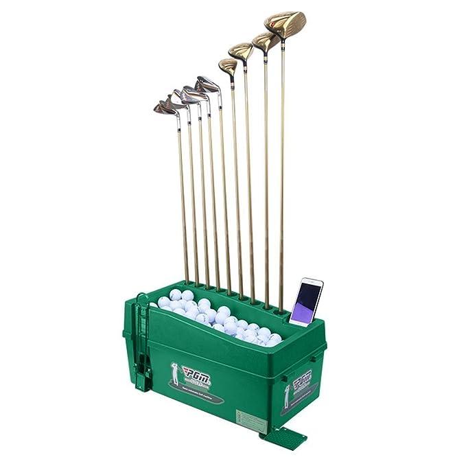 Crestgolf Dispensador de pelotas de golf, organizador de ...