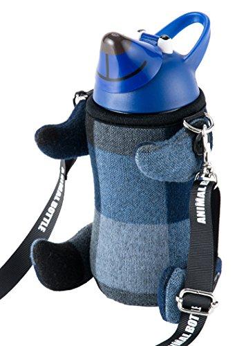 thermo mug(THERMOS 써모스 머그) 애니멀 보틀 (체크) BLUE 5155CH