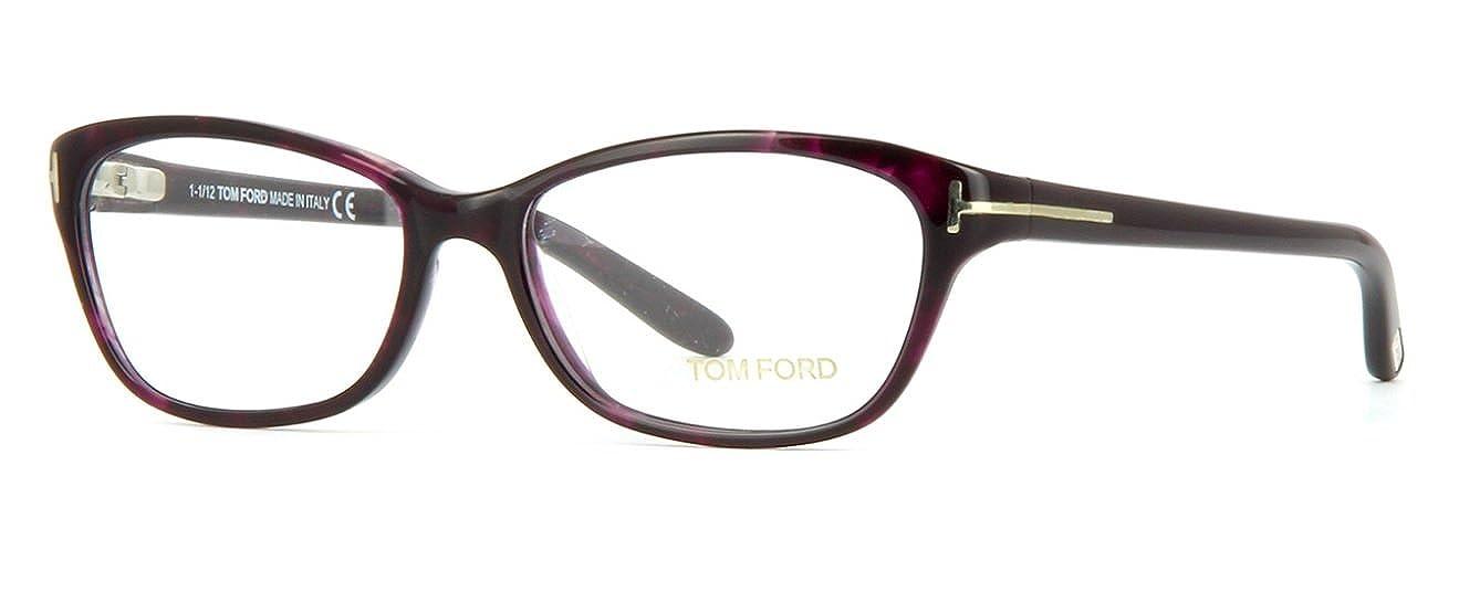Tom Ford - Monture de lunettes - Femme Violet violet Small  Amazon.fr   Vêtements et accessoires df701217506e