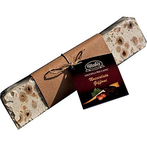 Turrón blanco con avellanas de Giffoni 200 Gr. - Nobis Nocciole - Ofrezca 5 piezas: Amazon.es: Alimentación y bebidas