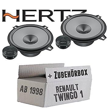 Renault Twingo 1 fase 2 frontal - Hertz K 130 - Kit - 13 cm altavoz Sistema - Compostador OHG -: Amazon.es: Electrónica