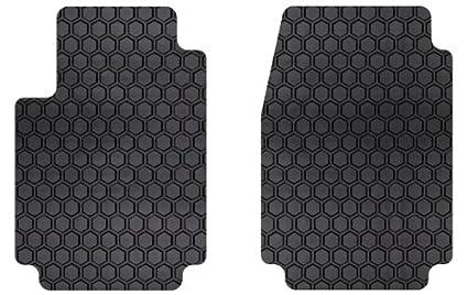 Amazoncom IntroTech Hexomat Front Row Custom Floor Mats For - Rubber connecting floor mats