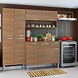 Cozinha Completa Compacta Madesa Emilly com Armário e Balcão