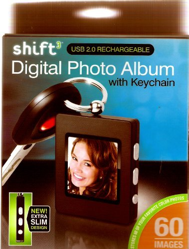 Shift Digital Photo ALbum with Keychain ()