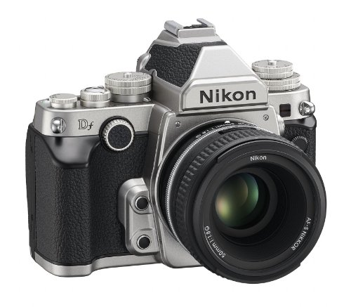 Nikon 1528 DF 16.2 MP CMOS FX-Format Digital SLR Camera (Black) with AF-S Nikkor 50mm f/1.8G Lens, 4GB Card and Camera… 3