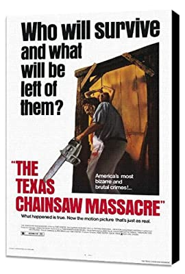 The Texas Chainsaw Massacre 11 x 17 Movie Poster - Style A - Museum Wrapped Canvas