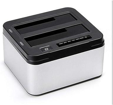 オフラインのハードディスクボックスをコピーするディスクベースのデュアルディスクUSB、外部多機能ハードディスクのサポート