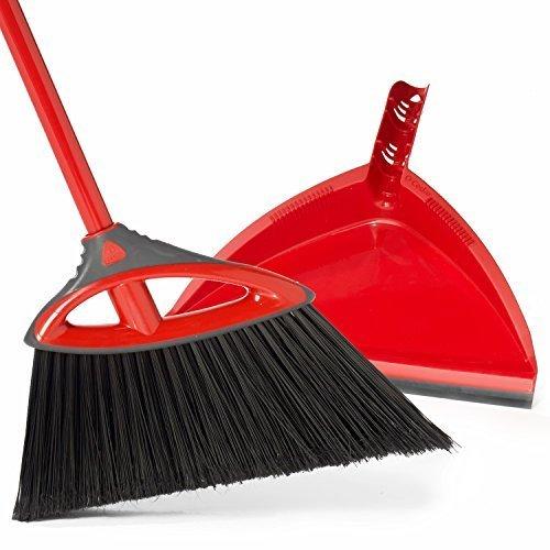 (O-Cedar Power Corner Angle Broom with Dust Pan)