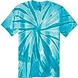Koloa Surf Co. Colorful Tie-Dye T-Shirt, Turquoise, Medium
